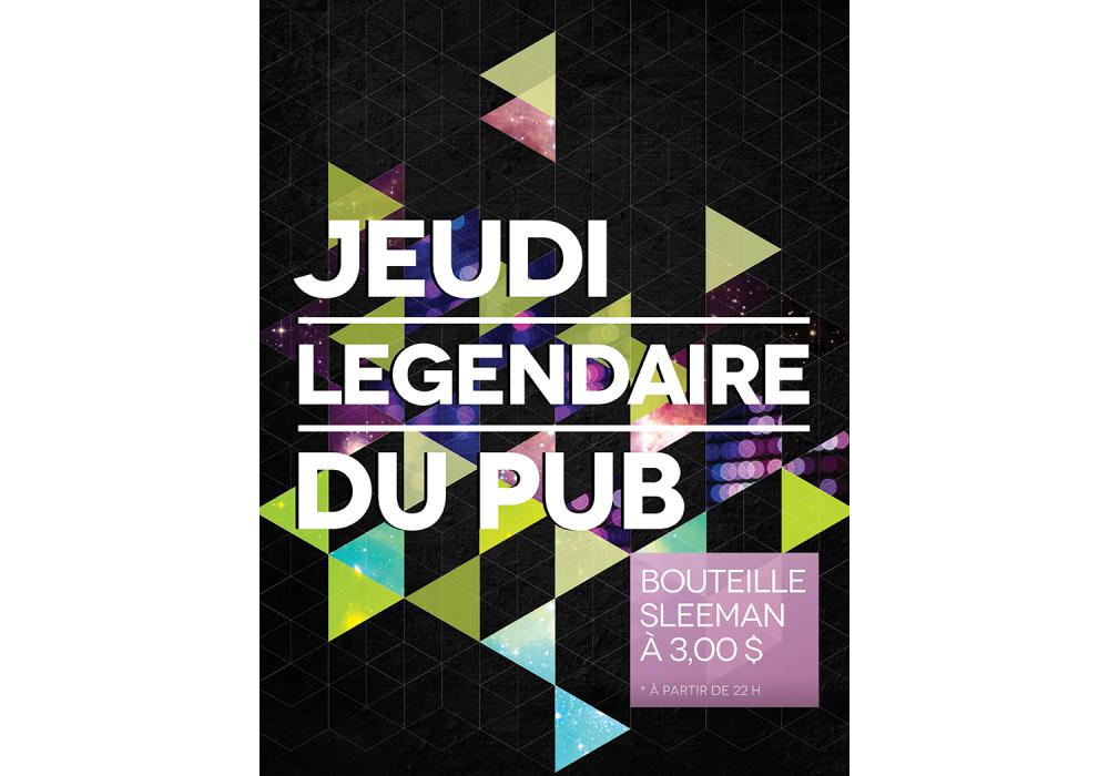 Legendaire du pub