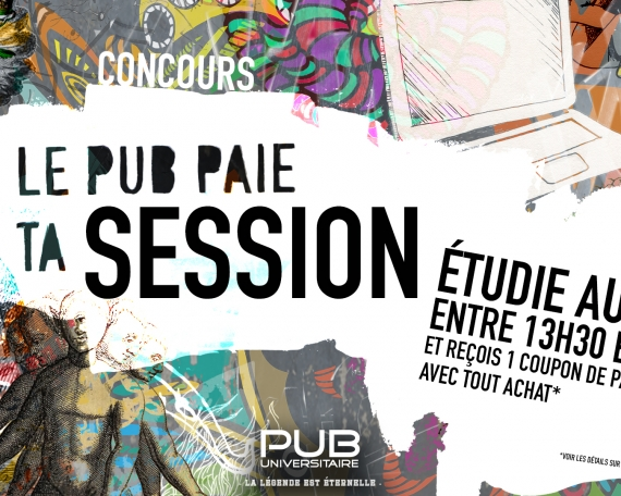 Le Pub paie ta session
